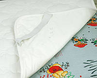 Наматрасник влагонепроницаемый для матраса в кроватку