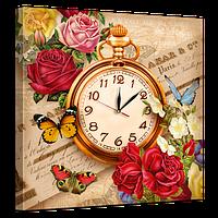 Часы на холсте 53 х 53 см D-5