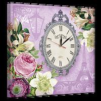 Часы на холсте 53 х 53 см D-6