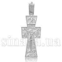 Серебряный большой Крест с распятием 3188