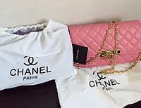 Женская модная сумочка Chanel полный бренд (кожа)