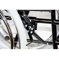Стандартная легкая складывающаяся инвалидная коляска, ECONOMY , OSD (Италия), фото 2