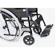 Стандартная легкая складывающаяся инвалидная коляска, ECONOMY , OSD (Италия), фото 3