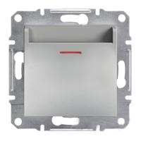 Выключатель карточный алюминий ASFORA Schneider electric EPH6200161