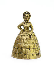 Дзвіночок старовинний, бронза, Англія, 12 см