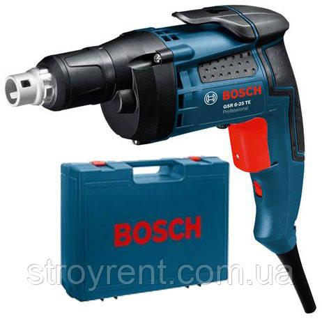 Шуруповерт сетевой Bosch GSR 6-25 TE - аренда, прокат