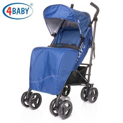 Детская коляска 4 Baby Wave Blue (синий), фото 2