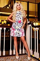 Шикарное платье из легкой джинсовой ткани