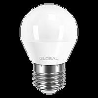 Светодиодная лампа GLOBAL 5Вт G45 E27