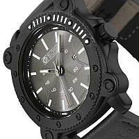 Мужские часы Military Royale Army Man's Leather Strap MR090