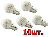 10шт Светодиодная LED лампочка UKC Bulb Light E27 5W