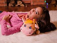 Мягкая игрушка плюшевая подушка Коровка Милка (игрушка-подушка)