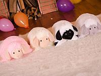 Мягкая игрушка плюшевая подушка Овечка (игрушка-подушка)
