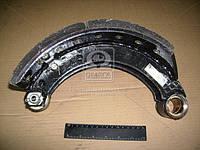 Колодка тормозная МАЗ 4370 заднего левая с накладка (производитель ТАиМ) 4370-3502091