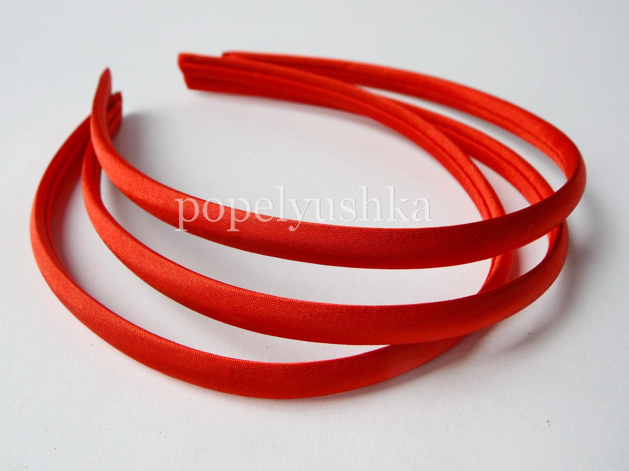 Обруч обтягнутий 0,9 см червоний