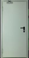 Противопожарные двери EI2-60 C5 ST 1L 880*2080 RAL 7035