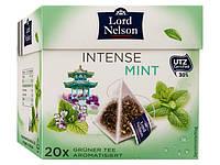 Чай зеленый  в пирамидках LORD NELSON Intense Mint