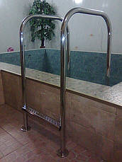 Сходи для басейну з нержавіючої сталі за індивідуальним замовленням, фото 3