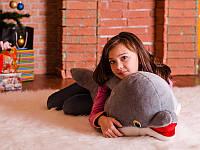 Мягкая игрушка плюшевый Дельфин Улыбка