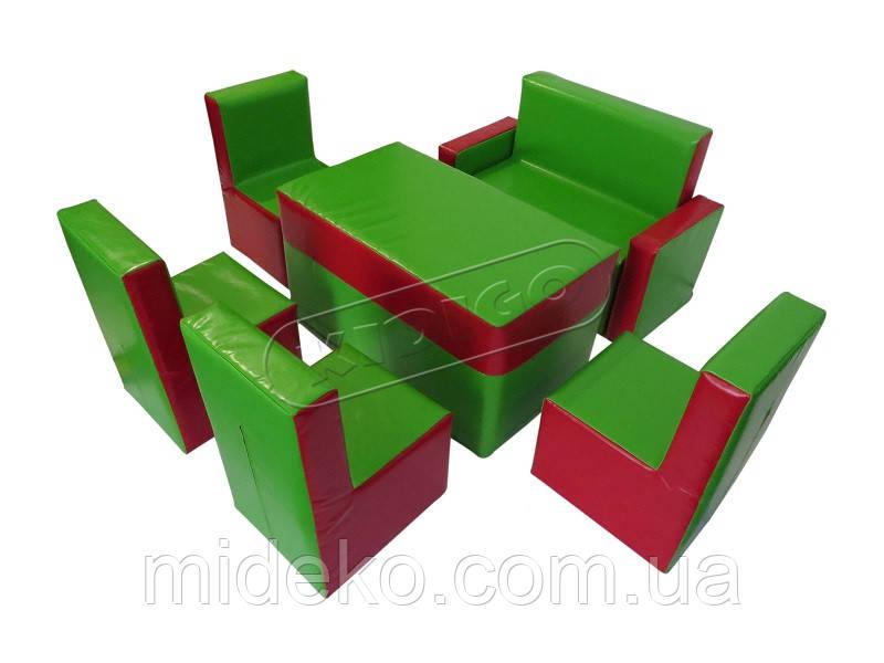 Комплект детской мебели KIDIGO™ Гостинка Люкс MMKGL