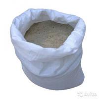 Песок мытый в мешках по 0.33м3