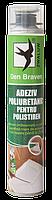 Монтажная пена клей для полистирола и пенопласта Den Braven Pro 870мл