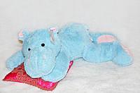 Плюшевая игрушка бегемот 100 см, мягкий подарок
