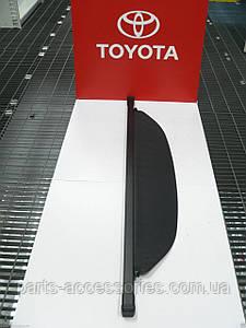 Полка шторка в багажник черная Toyota RAV4 2013-16 новая оригинал