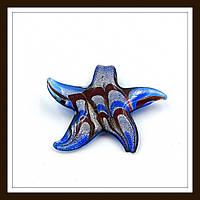 Кулон лэмпворк Звезда