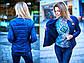 """Стильная женская куртка на синтепоне 8001 """"Весна-Осень"""" в расцветках, фото 7"""