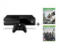 Игровая консоль Microsoft Xbox ONE 500 GB +AC Black Flag +AC Unity
