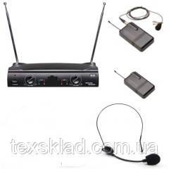 Радио микрофоны Shure UT42- 1 головной, 1 петличный