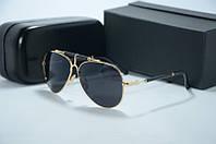 Солнцезащитные очки Balmain черные