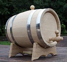 Дубовая бочка 10л для вина, коньяка, виски