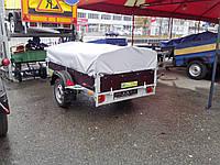 Тенты на прицепы легковых автомобилей.