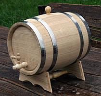 Дубовая бочка 15л для вина, коньяка, виски