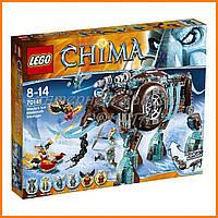 Конструктор Bela 10297 Аналог LEGO 70145  Легенды Чимы Ледяной Мамонт-Штурмовик Маулы