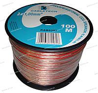 Кабель акустический Cabletech KAB0357 CCA 2X1 mm