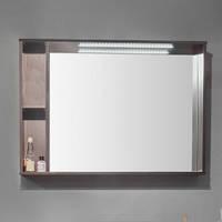 Зеркальный шкафчик с подсветкой Fancy Marble ШЗ-980 венге 98см