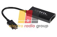 Переходник MHL (micro USB (папа)) to HDMI (мама), Blister