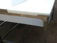 Стол обвалочный односторонний из нержавеющей стали с доской, фото 1