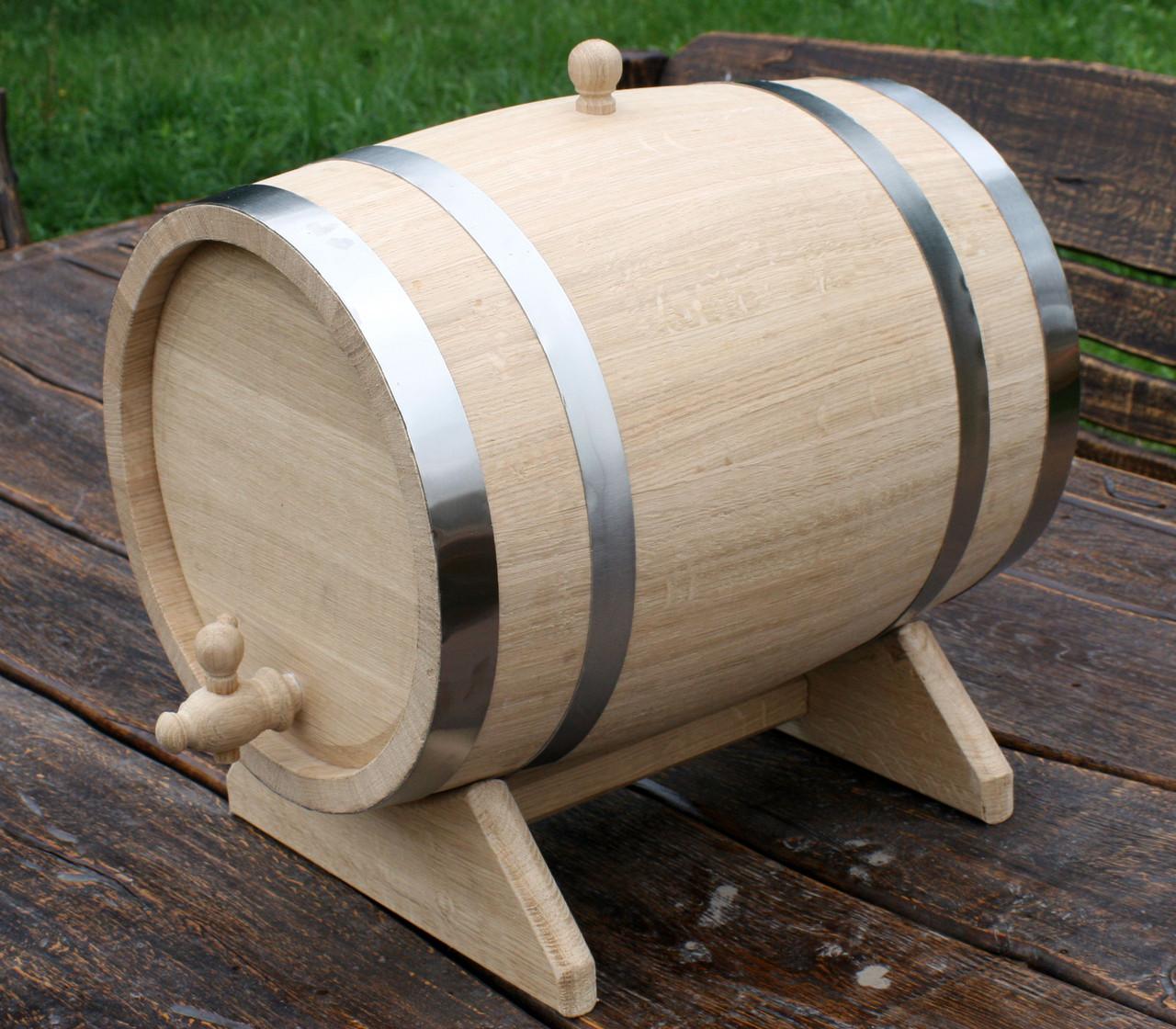 Дубовая бочка 40л для вина, коньяка, виски