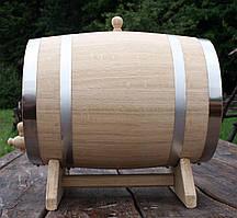 Дубовая бочка 30л для вина, коньяка, виски