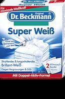 Dr. Beckmann Super Weiß Mitwaschbeutel - Отбеливатель для белья, 80 г