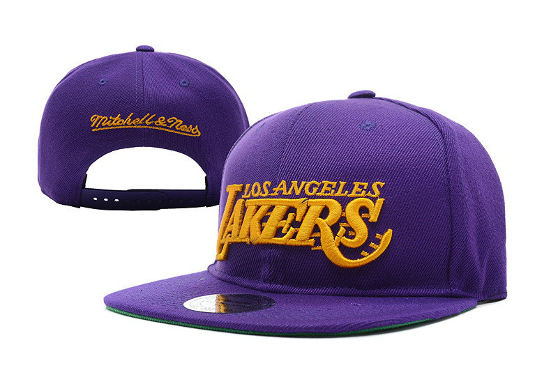 Кепка Snapback Los Angeles Lakers / SNB-586 (Реплика)