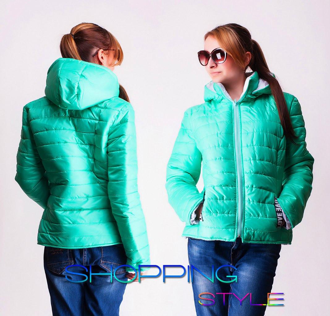 c63e49bb56c Женская демисезонная куртка 4 цвета новинка 2016 - Магазин