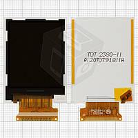 Дисплей (LCD) для Fly DS107 / DS113, оригинал