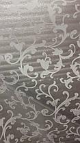 Тюль органза Завиток белый, 3 метра, фото 3