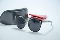 Солнцезащитные очки Alexander McQueen черные, фото 1