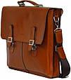 Мужской оригинальный портфель из натуральной кожи VATTO MK24Каz1, фото 3